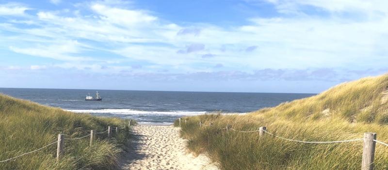 Texel opgang strand